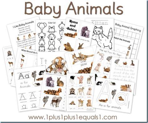 baby animals printable pack free 1 1 1 1 451 | Baby Animals thumb3