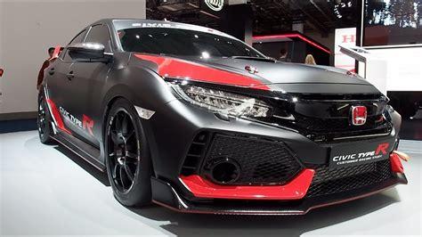 The All New Honda Civic Type R Customer Racing Study 2018