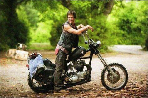 Walking Dead Actor Hosts Motorcycle Show
