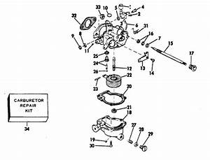 Evinrude Carburetor Parts For 1979 6hp 6905e Outboard Motor