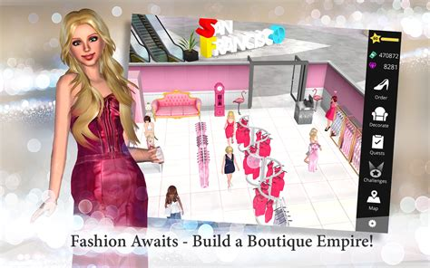 empire boutique sim dressup amazon android