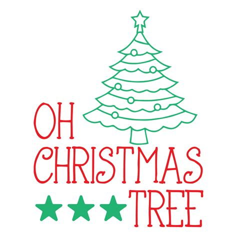 Rated 5.00 out of 5 based on 9 customer ratings. Oh Christmas Tree SVG - SVG EPS PNG DXF Cut Files for ...