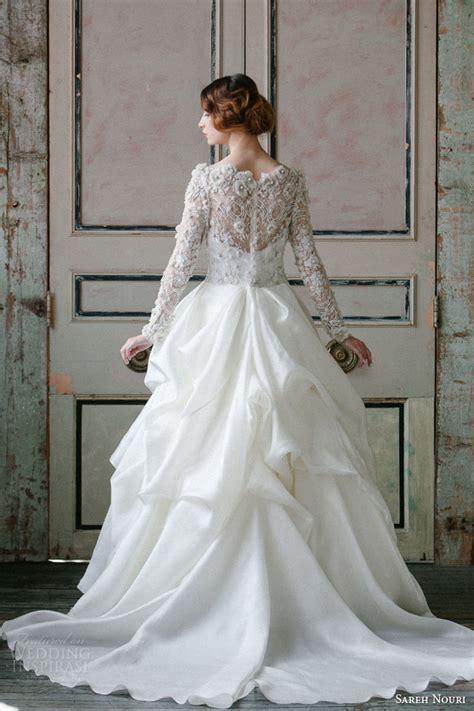 sareh nouri spring  wedding dresses wedding inspirasi