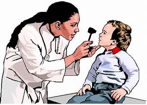 Pediatricians at Work Clipart