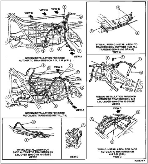 1995 F150 Wiring Harnes by 1996 Bronco F Series