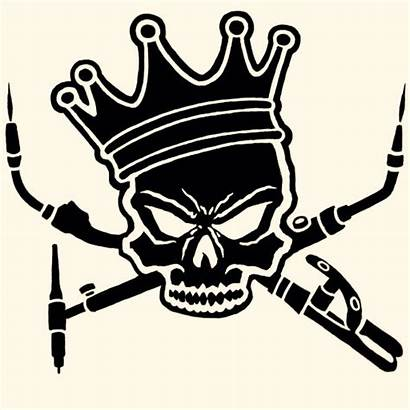 Skull Clipart Welding Welder Logos Clip Svg