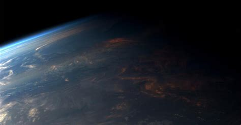 You Can See a Sunset From Space - The Atlantic