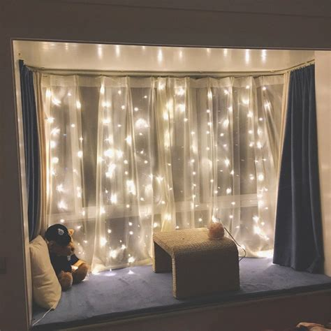 LED Window Curtain String Lights for Home Decor - Rowe