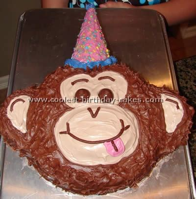 coolest monkey cakes