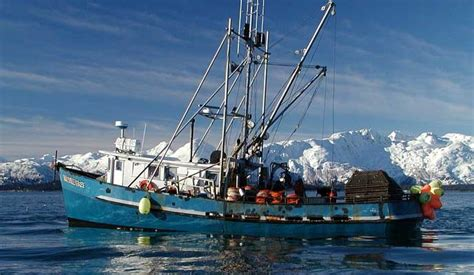 Alaska Commercial Fishing Boat by Commercial Fishing Glacier Bay National Park Preserve