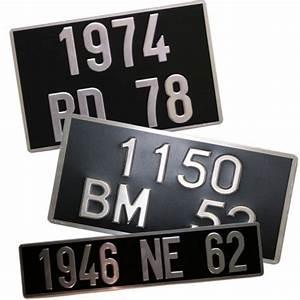 Acheter Plaque Immatriculation : plaque d 39 immatriculation cyclo noire 14 x 12 cm ~ Gottalentnigeria.com Avis de Voitures