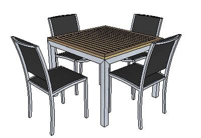 wood work google sketchup patio furniture  plans
