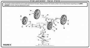 Homelite Ry40108 40 Volt Lawn Mower Mfg  No  107993003