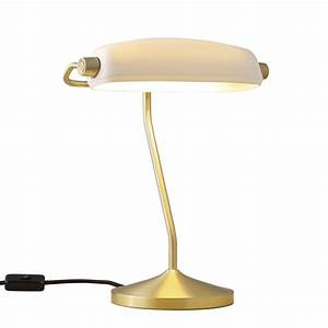 Bankers Lamp Original : buy the bankers table lamp all square lighting ~ Michelbontemps.com Haus und Dekorationen