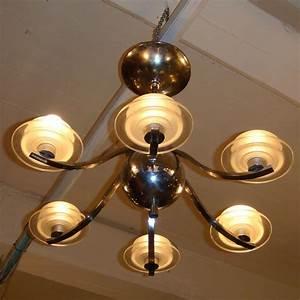 Art Deco Deckenleuchte : 01357 sechsarmige art deco deckenlampe mit metallkugel wandel antik ~ Sanjose-hotels-ca.com Haus und Dekorationen