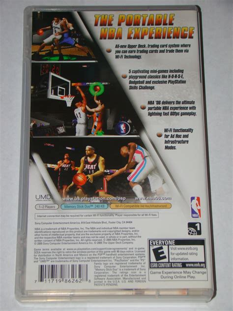 Sony Psp Umd Game Nba 06 Complete With And Similar Items