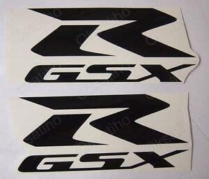 suzuki gsxr fairing decals stickers 600 750 1000 1100 tank bike motorcycle gsx r ebay