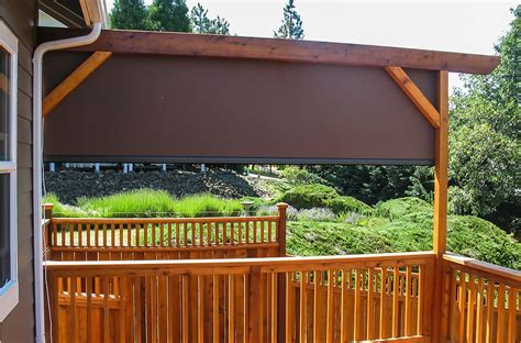 retractable solar screens southern oregons leading awning provider deluxe awning