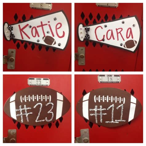 First Locker Decorations Of The Whs Football Season