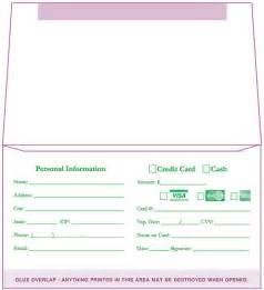 Church Tithe Envelopes
