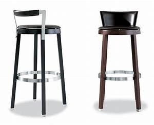 Tabouret De Bar Cuir : tabouret de bar cuir design en image ~ Teatrodelosmanantiales.com Idées de Décoration