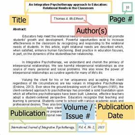 Locate Citation Information - Research Foundations ...