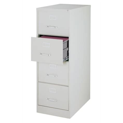 Hirsch Filing Cabinet 4 Drawer by 4 Drawer File Cabinet In Gray 17550