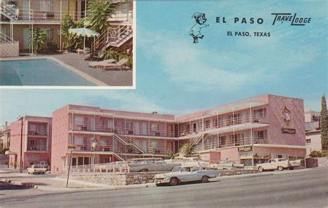 We offer a new meeting point for coffee lovers on the 5 downtown districts. 1950's 1960's View El Paso Travel Lodge El Paso Texas TX | Travel lodge, El paso texas, El paso