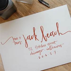 best 25 hand lettering envelopes ideas on pinterest With hand addressed wedding invitations cost