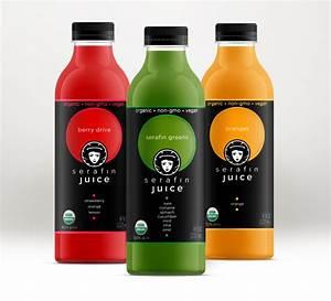 packaging design label design san diego california With juice bottle label design