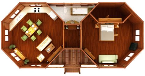 octagon house plans designs images