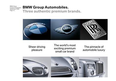 Investor Presentation of BMW Group 2009