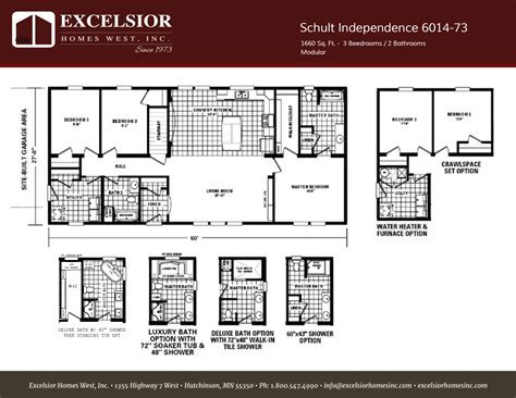 Schult Independence 18 Home Plan   Excelsior Homes West, Inc.