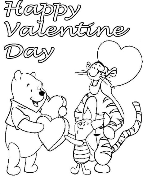valentines day coloring page free printable s day coloring pages