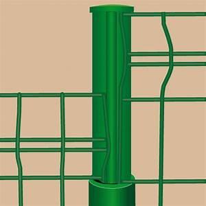 Poser Un Grillage Rigide : poser des panneaux de grillage portail cl ture ~ Dailycaller-alerts.com Idées de Décoration