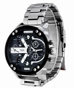 Montre Homme Diesel 2016 : montre copie diesel bracelet acier avec dateur automatique pour homme online web shop ~ Maxctalentgroup.com Avis de Voitures