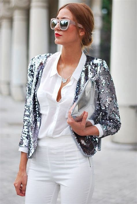 23 Ways to Wear Metallic Silver This Fall | Styles Weekly