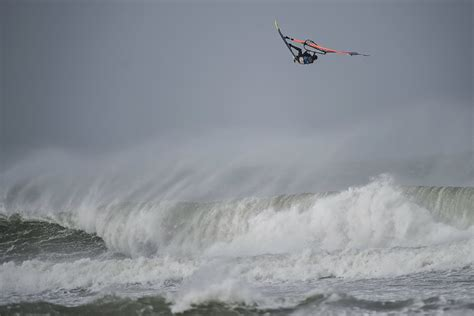 red bull storm chase   stormy cornwall errant surf