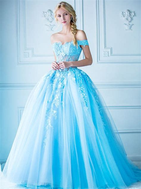 25 best ideas about blue wedding dresses on pinterest