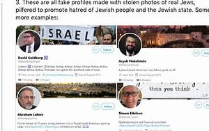 Fake Twitter accounts are impersonating Jews and promoting ...