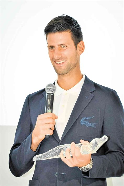 lacoste siege how we got djokovic to do our selfie inquirer