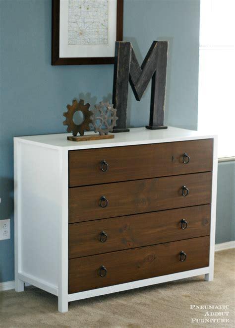 White Dresser by White Modern White Dresser With Wood Drawers Diy
