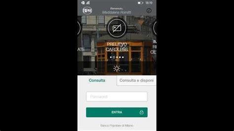 bpm banking mobile bpm mobile popolare di arriva su windows