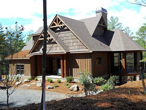 4 Bedroom Rustic House Plan With Porches  Stone Ridge Cottage