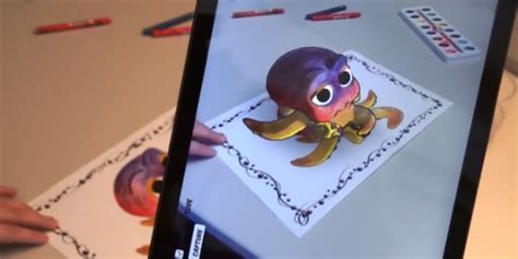 disney plans  release augmented reality coloring book     distant future soranews