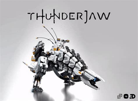 artstation lego thunderjaw roar animation theo domon
