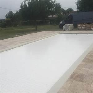Carrelage Tour De Piscine : travertin en tour de piscine libourne vente et pose ~ Edinachiropracticcenter.com Idées de Décoration
