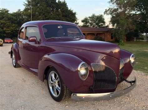 1940 Lincoln Zephyr Custom, 46 Ltr V8 Conversion For Sale