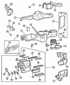 Chrysler Town  U0026 Country Seal  Heater Core Tubes