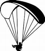 Paragliding Parapente Paraglider Autoaufkleber Gleitschirm Parasailing Paracadute Tazze Trägerfolie Anbringen Leichtes Dünne Autofolie Lichtbeständig Pochoir sketch template